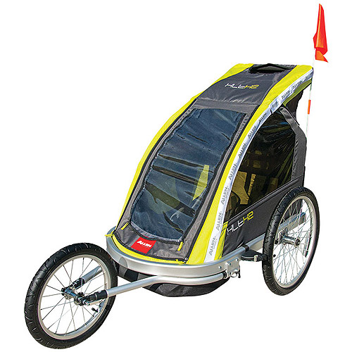 Allen Sports Aluminum 2-Child Racing Jogger & Bike Trailer