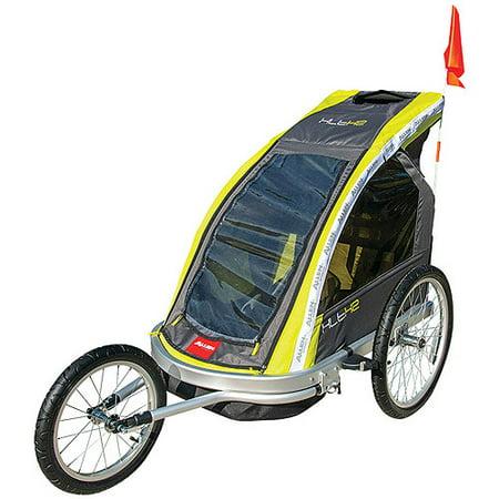 Allen Sports Aluminum 2 Child Racing Jogger Bike Trailer