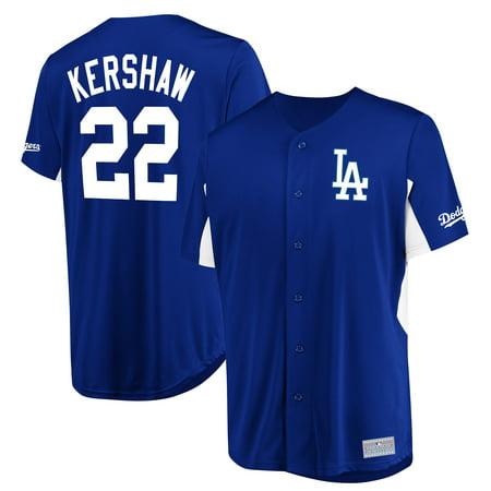 Clayton Kershaw Los Angeles Dodgers Majestic MLB Jersey - Royal