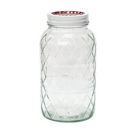 Better Homes Gardens Quart Regular Glass Jar With Lid Ring