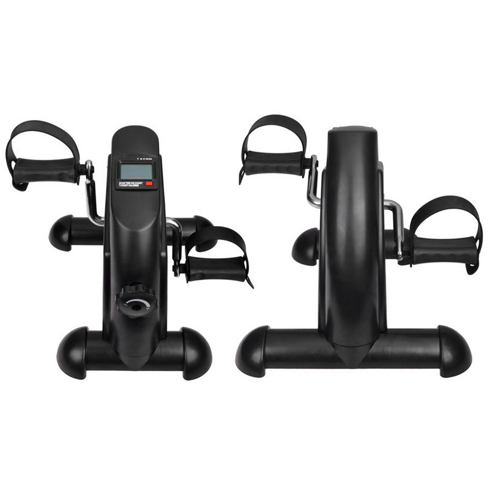 Mini Pedal Exerciser Cycle Exercise Bike Indoor Fitness With LCD Display