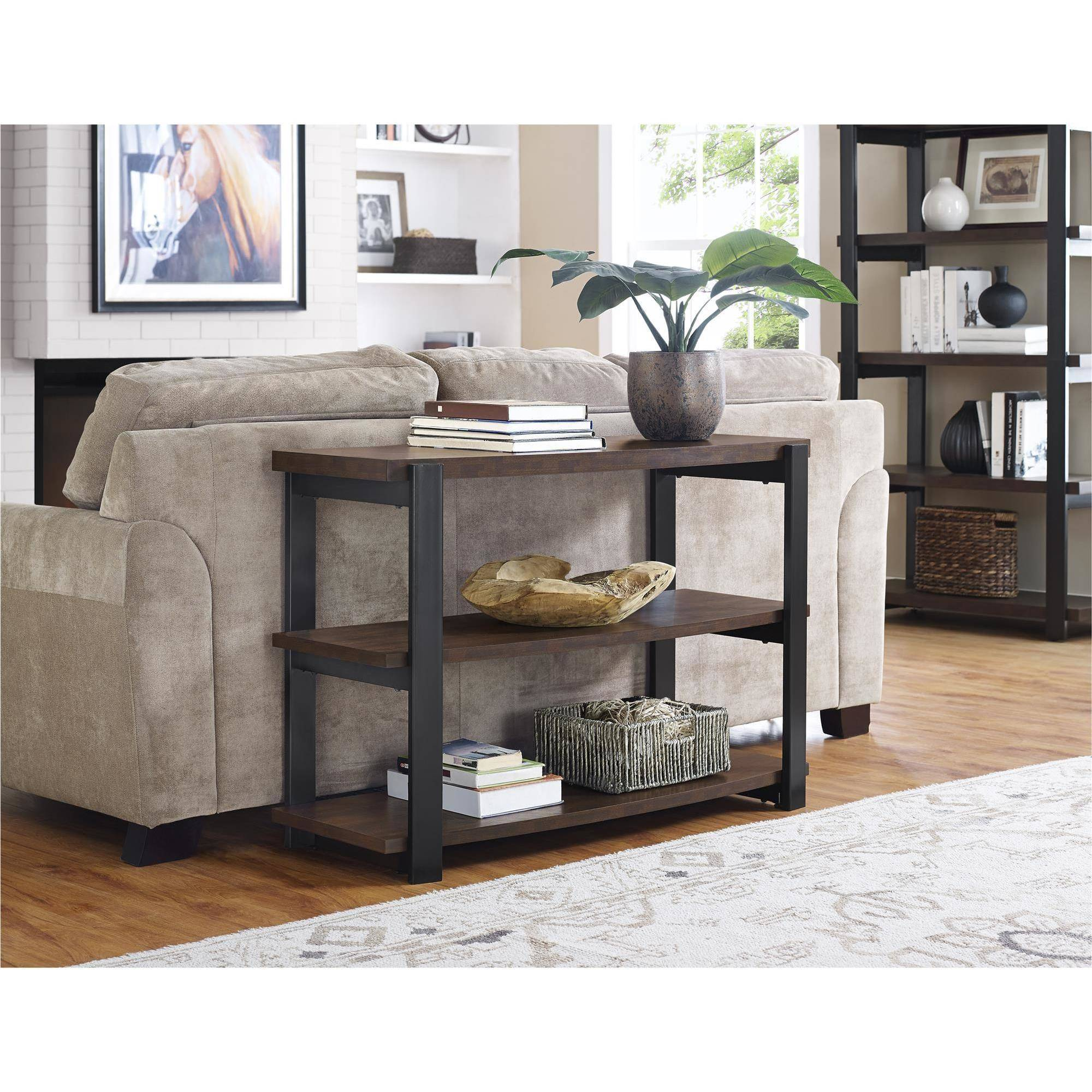 Ameriwood Home Castling Console Table, Espresso by Ameriwood
