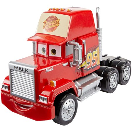 Disney Pixar Cars 3 Deluxe Cars 3 Mack Vehicle - Disney Pixar Cars Hank Halloween Murphy