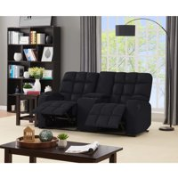 ProLounger Tufted Microfiber Recliner Loveseat