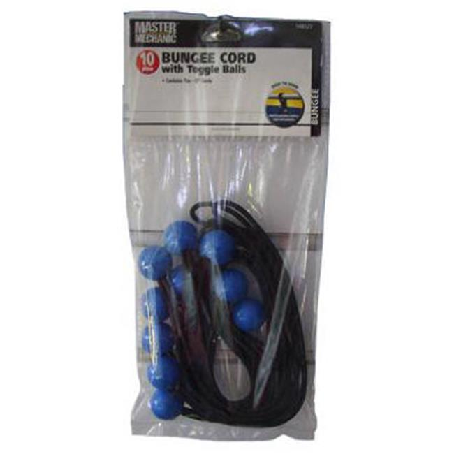 Bungee Cords with Toggle Balls - Pack of 10