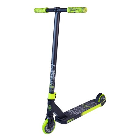 MADD GEAR – CARVE PRO - Black Green – Suits Boys & Girls Ages 6+ - Max Rider Weight 220lbs – 3 Year Manufacturer's Warranty – World's #1 Pro Scooter Brand – Built to Last! Madd Gear Est. 2002 ()