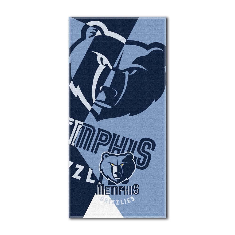 Memphis Grizzlies Puzzle Oversized Beach Towel