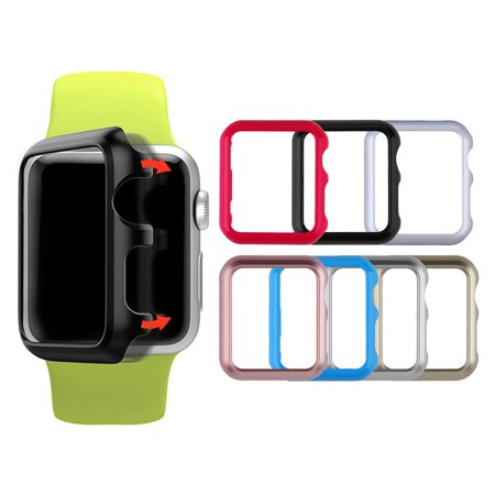 Cool Clear Slim Thin Hard Snap Case Cover Skin For Apple Watch 38MM