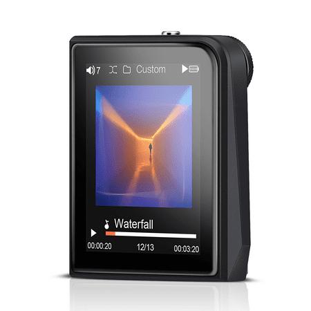 AGPTEK H50 HIFI Lossless MP3 Player, High Resolution Digital Audio Player, Up to 128GB, 2-inch TFT Display, Gray (Halloween Ii Theme Mp3)