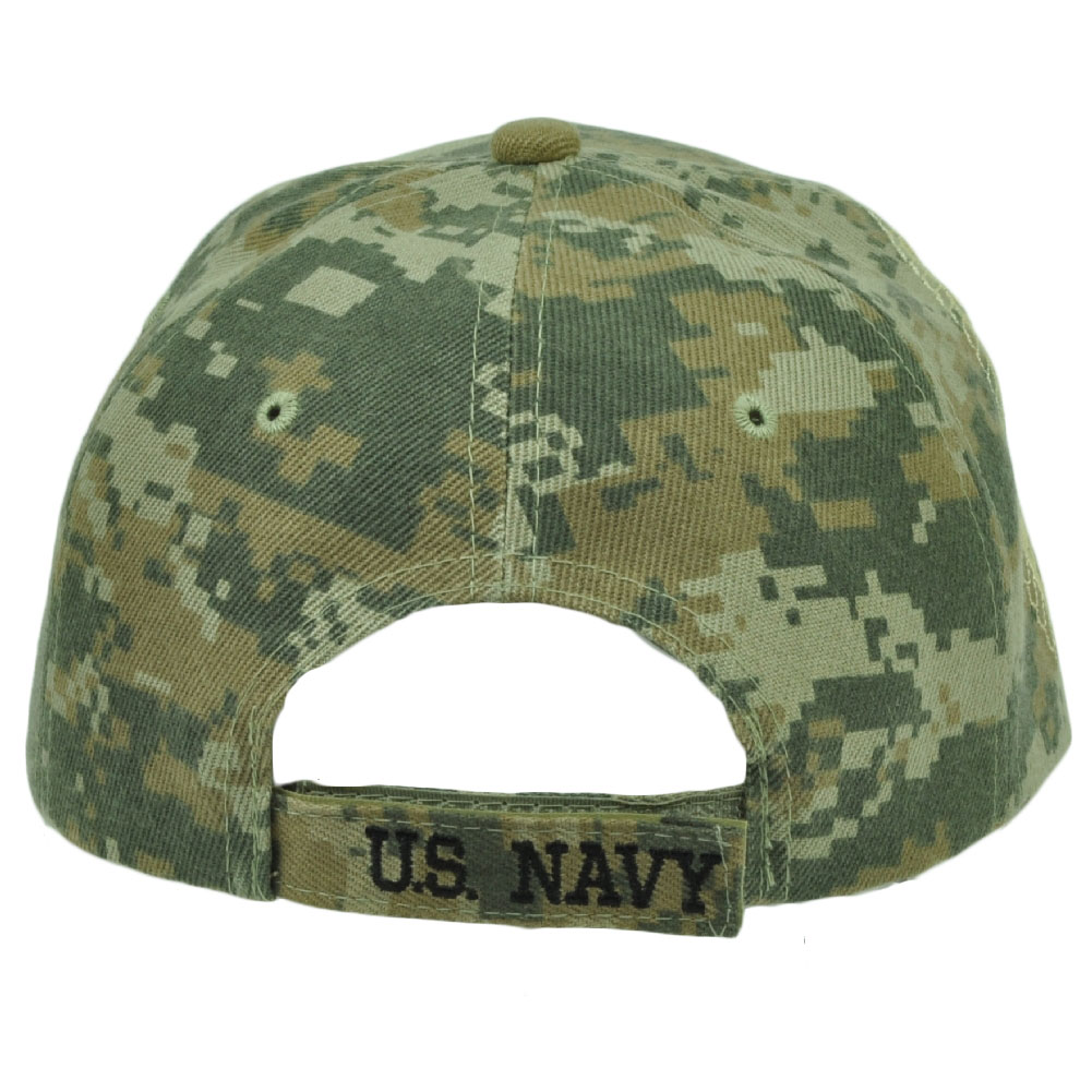 United States US Navy Digital Camouflage Camo Hat Cap Military Adjustable -  Walmart.com 3f597452a13