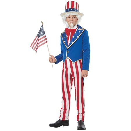Uncle Sam Child Costume - Uncle Sam Halloween Costumes