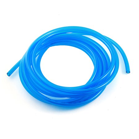 - Unique Bargains Engine Gas Fuel Oil Injection PU Line Tubing Tube 6.5mmx10mm 5meter Clear Blue