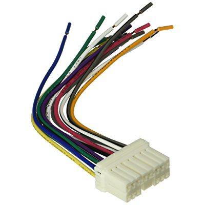 scosche reverse wiring harness for 1993-up select subaru power/4 speaker  connector
