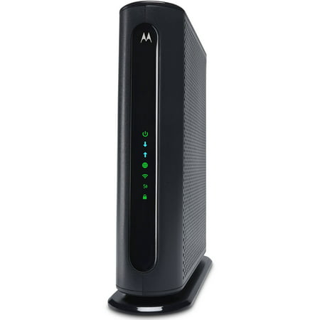 MOTOROLA MG7550 (16x4) Cable Modem + AC1900 WiFi Router Combo, DOCSIS 3.0 | Certified for XFINITY by Comcast, Time Warner, Spectrum, Cox, & (Motorola Surfboard Extreme Cable Modem Sb6121 Manual)