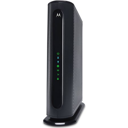 MOTOROLA MG7550 (16x4) Cable Modem + AC1900 WiFi Router Combo, DOCSIS 3 0 |  Certified for XFINITY by Comcast, Time Warner, Spectrum, Cox, & more
