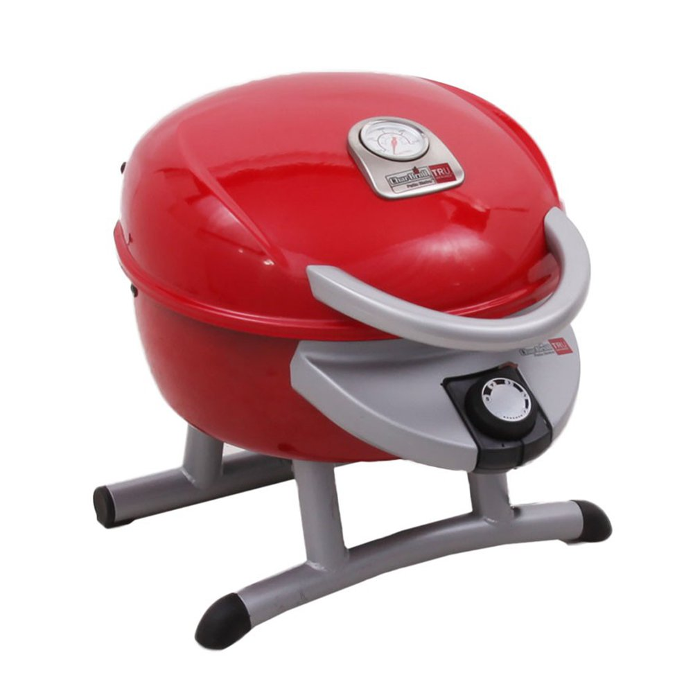 Char Broil Portable Tru Infrared Patio Bistro Electric Grill, Red