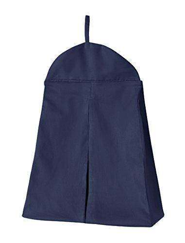 Navy Blue Girl or Boy Gender Neutral Diaper Stacker Storage Organizer by Sweet Jojo Designs