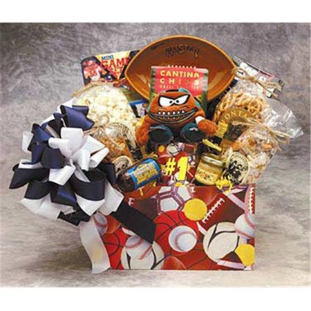 Gift Basket 85111 All Star Sports Box Gift Baskets - Medium