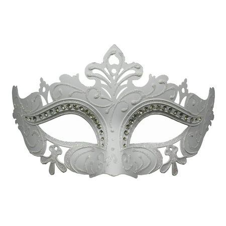 ELEGANT WHITE VENETIAN MASK - Costume - MASQUERADE](Masquerade Costume Kids)