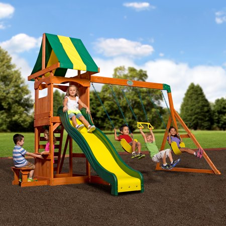 Modular Playground Equipment (Backyard Discovery Weston Cedar Swing)