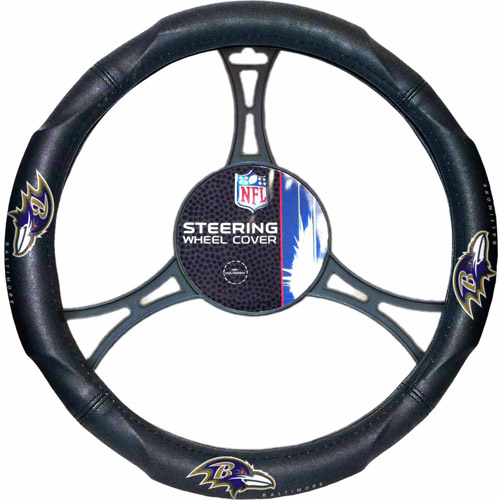 NFL Steering Wheel Cover, Ravens