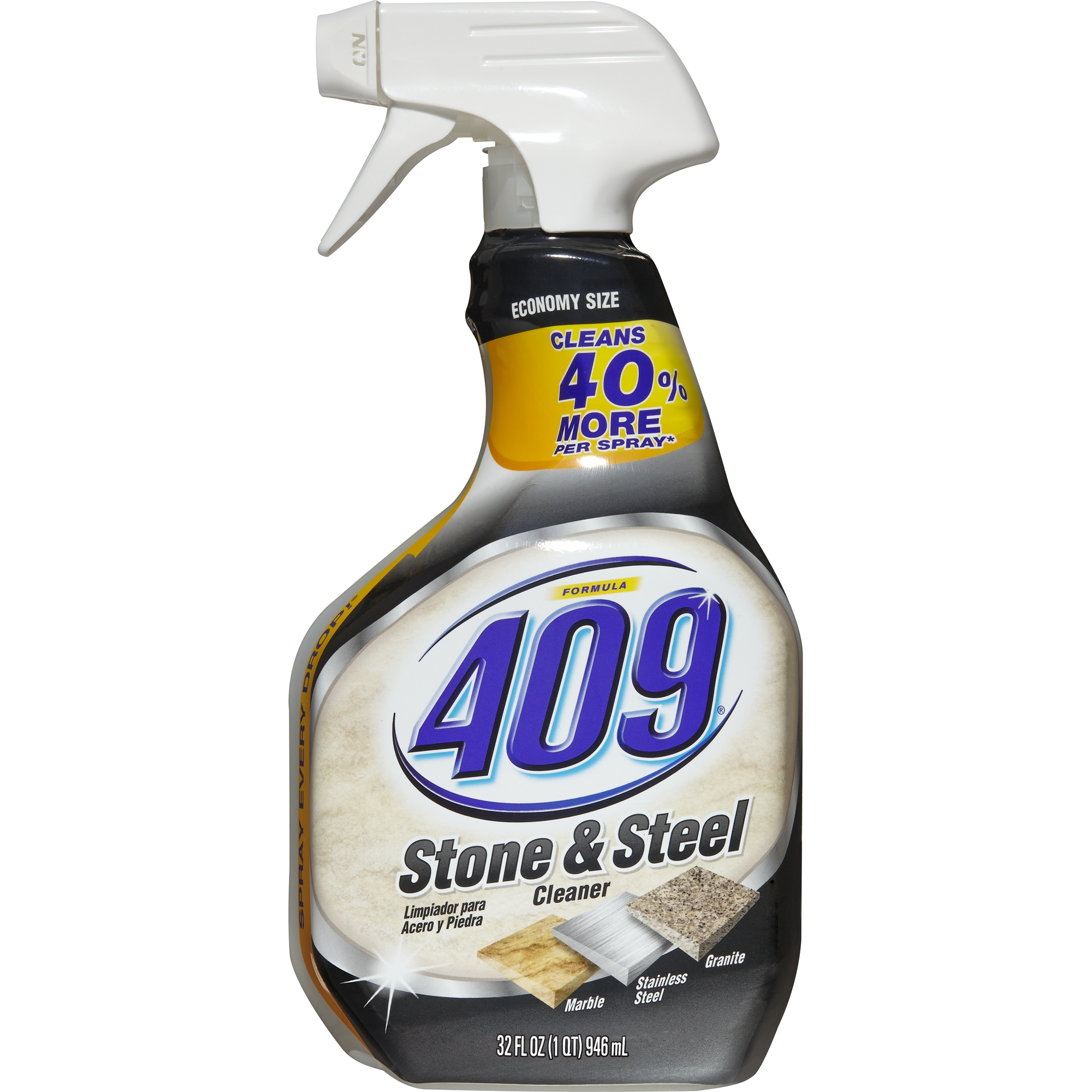 Formula 409 Stone and Steel Cleaner, Spray Bottle, 32 oz