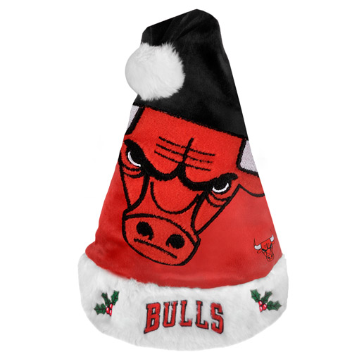 NBA 2011 Colorblock Santa Hat, Chicago Bulls