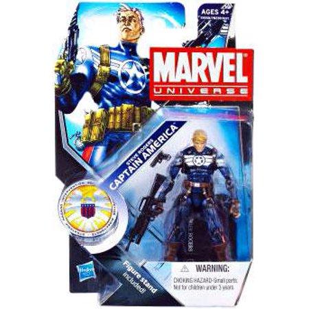 Marvel Universe Series 15 Steve Rogers Captain America Action Figure
