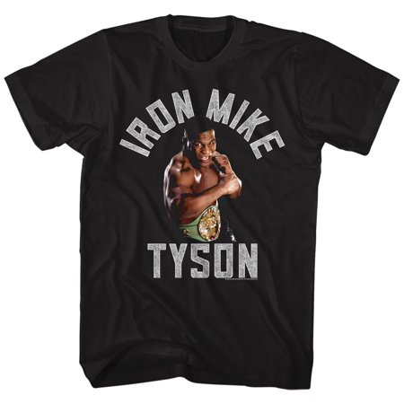 Mike Tyson Gimmie Gold Fighter Boxer Champion American Classics Adult T Shirt