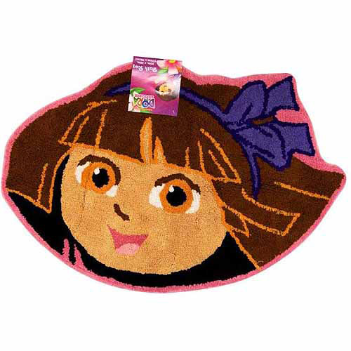 Nickelodeon Dora The Explorer Picnic Bath Rug