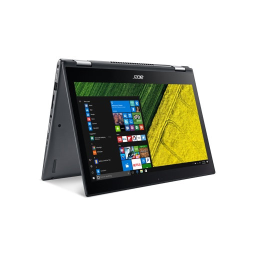 "Acer Spin 5 SP513-52N-5621 - 13.3"" - Core i5 8250U - 8 GB RAM - 256 GB SSD Touch Screen Convertable Notebook"