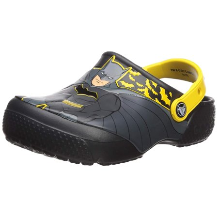 Crocs Boys' Lab Batman Child Fun Clog Iconic jqUVSLzpMG