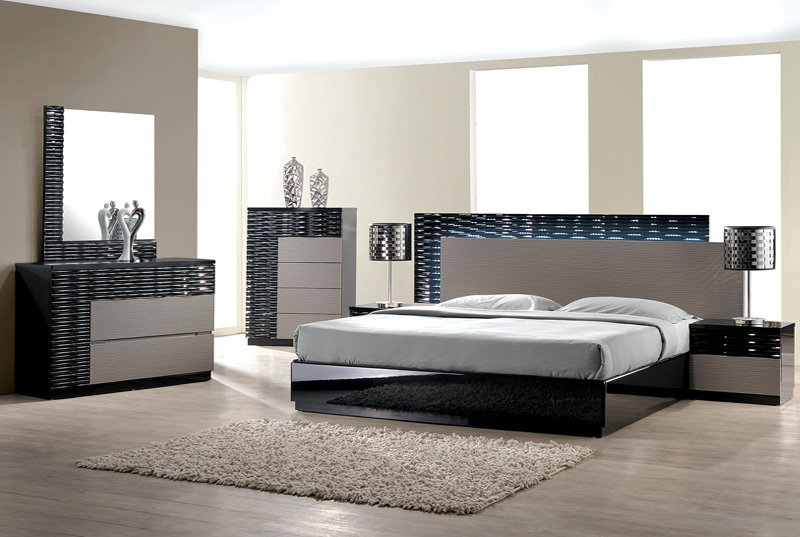 Modern King Size Bedroom Furniture Sets Collection