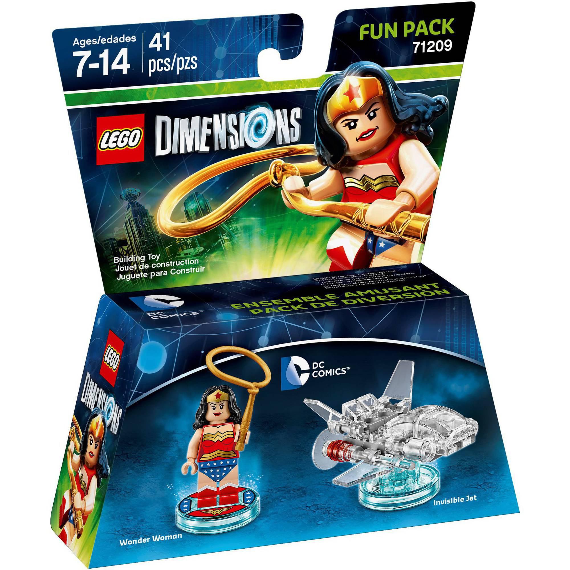 lego dimensions wonder woman dc comics fun pack universal walmartcom