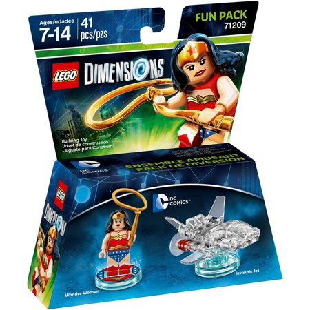 Lego Dimensions Wonder Woman  Dc Comics  Fun Pack  Universal
