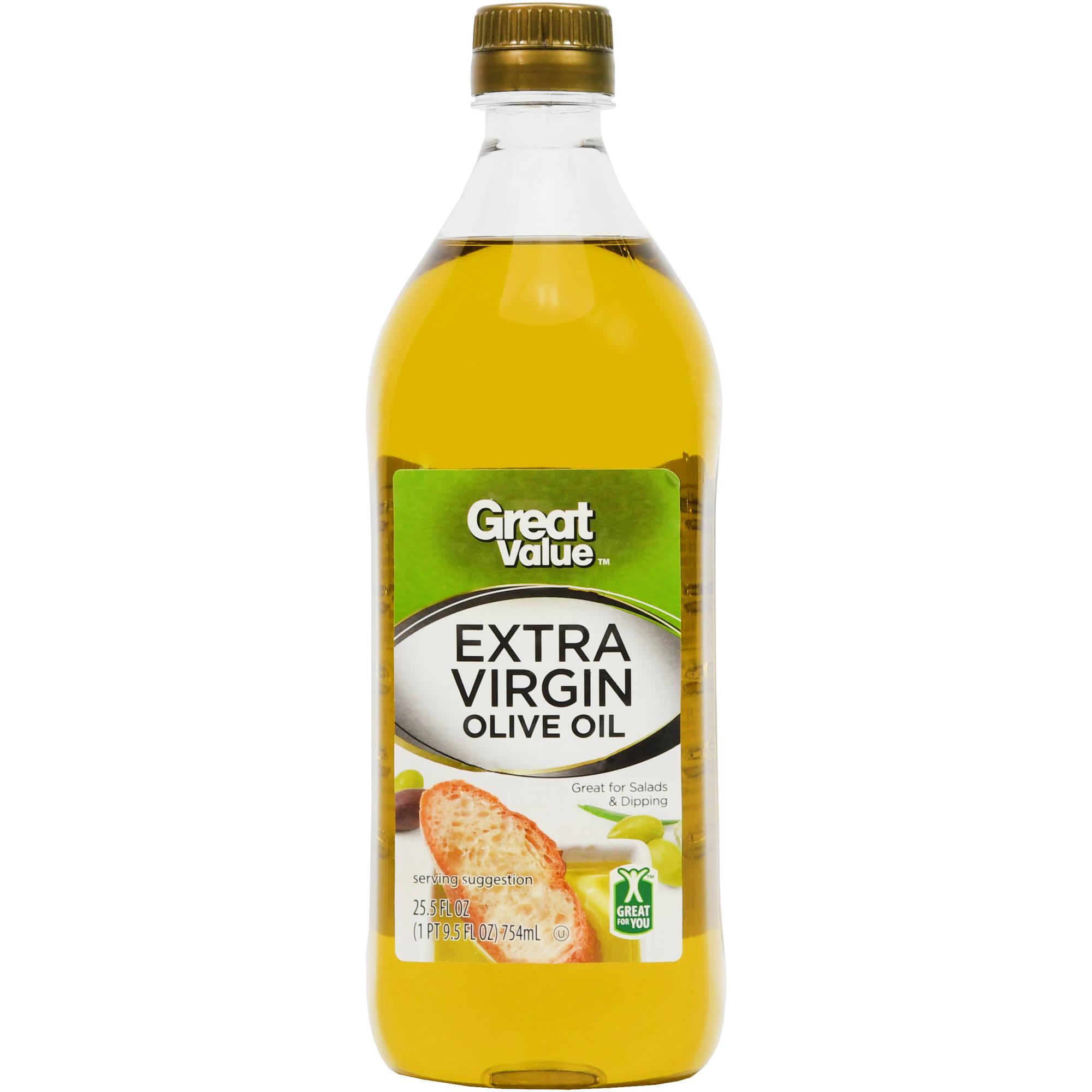 Great Value: 100% Extra Virgin Olive Oil, 25.5 oz