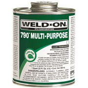 WELD ON 790 MULTI PURPOSE CEMENT QUART CLEAR