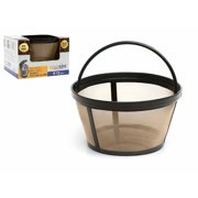 GoldTone Reusable 8-12 Cup Coffee Basket for All Mr. Coffee Machines and Makers - Replacement Permanent Mr Coffee Filter - BPA Free - 1 Pack