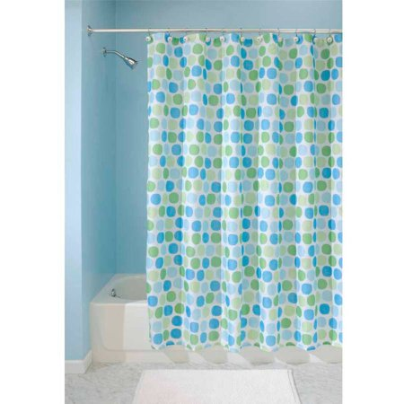 Interdesign Rialto Fabric Shower Curtain