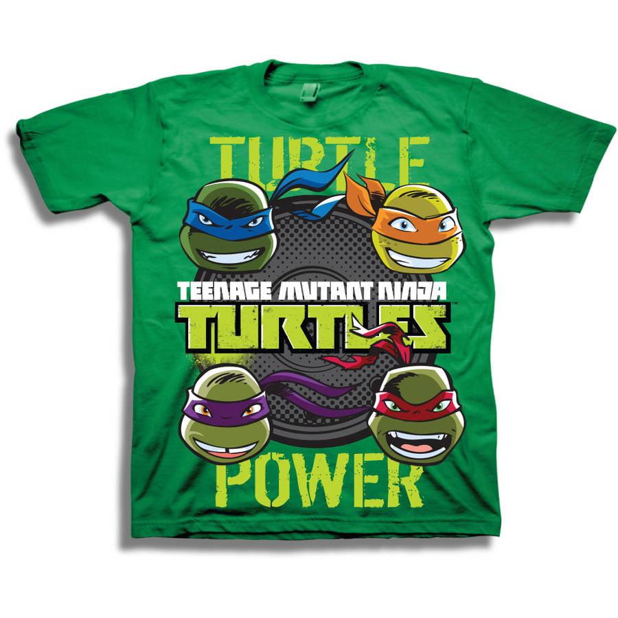 Boys' Turtle Power Short Sleeve T-Shirt