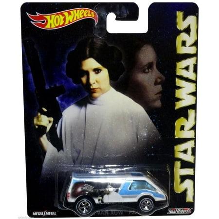 Star Wars Die Cast Real Riders Princess Leia Dream Van XGW Panel Van NIP 2015 By Hot Wheels