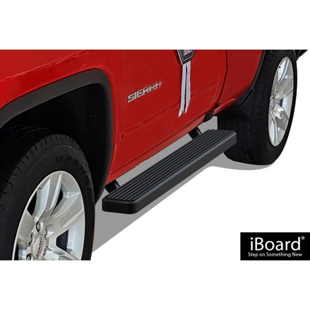 - iBoard Running Board For Chevrolet/Gmc Silverado/Sierra Regular/Standard Cab 2 Full Size Door