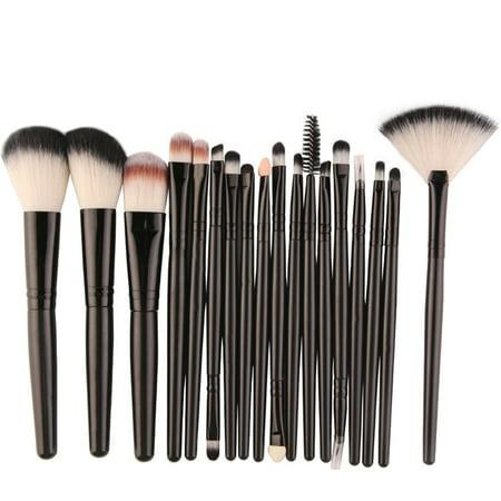 Easy-life 18 Pcs MAANGE Makeup Tools Set Brushes Suit Foundation Eye Lip Eyeshadow - image 1 de 3