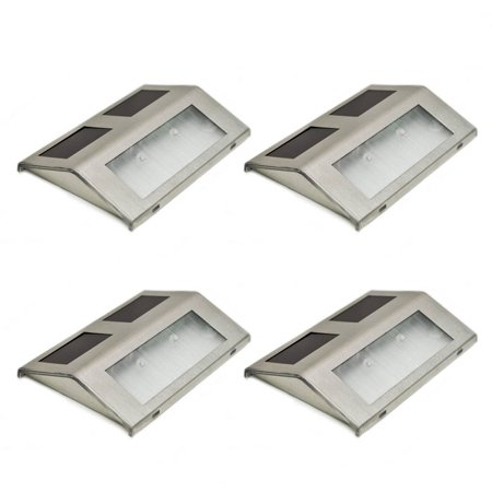 ALEKO Outdoor Decorative Wall Mounted Light Lamp  Solar Powered LED  Walmart.com