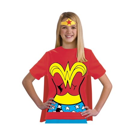 Child Wonder Woman T-Shirt - Wonder Woman Costume T Shirt