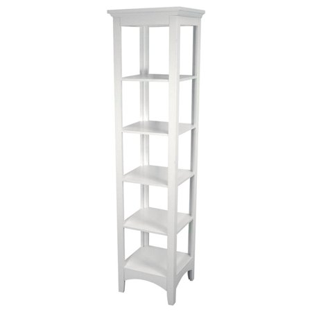 Classy Collection Linen Tower, White