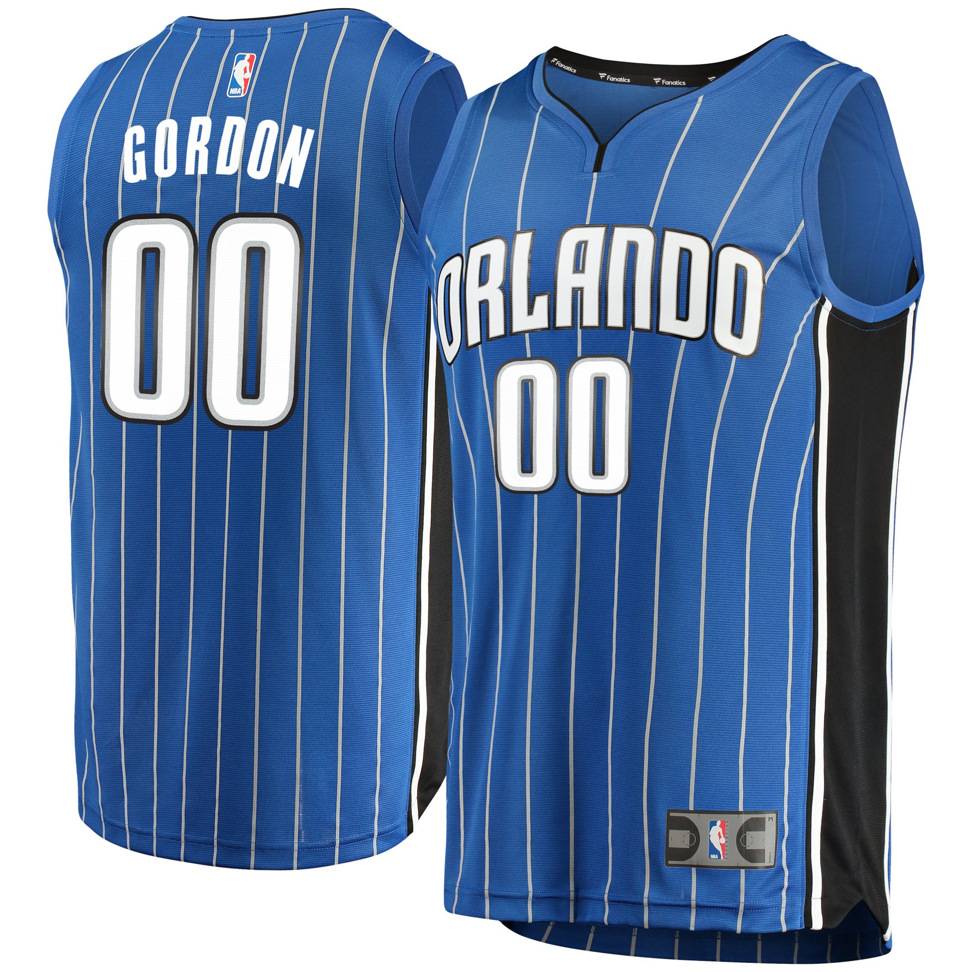 Aaron Gordon Orlando Magic Fanatics Branded Youth Fast Break Replica Jersey Blue - Icon Edition - Yth XL