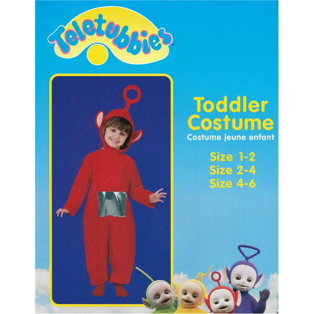 Teletubbies Po Child Costume - Laa Laa Teletubbies Costume