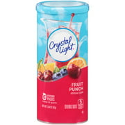 (36 Pitcher Packs) Crystal Light Fruit Punch Drink Mix, 2.04 oz