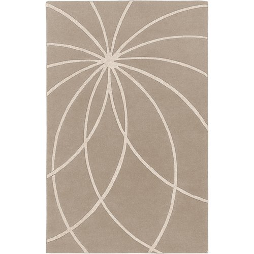 Surya Forum Safari Tan/Antique White Area Rug